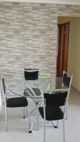 Apartamento residencial Vila augusta, Vila Antonieta, Guarulhos - AP0410.