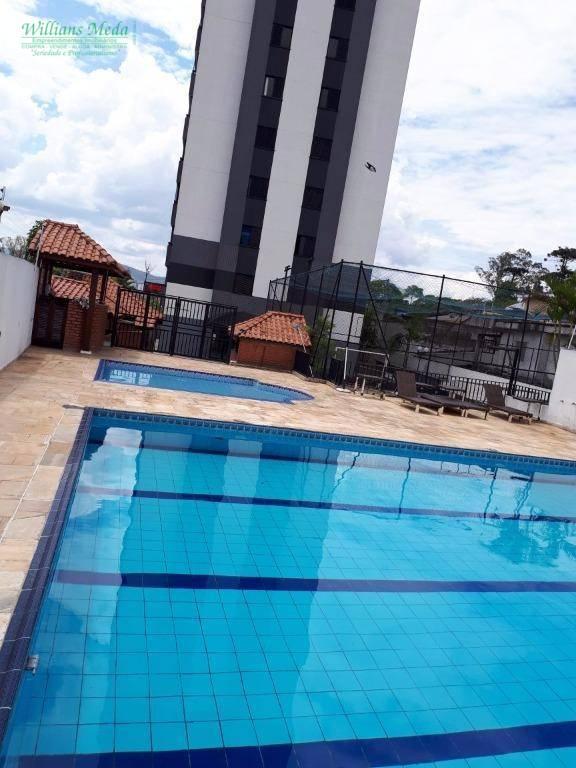 Apartamento residencial à venda, Bom Clima, Guarulhos.
