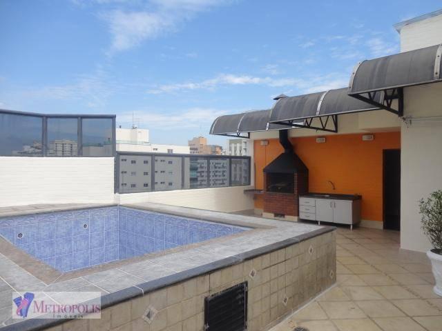 Cobertura com 3 dormitórios à venda, 320 m² por R$ 1.270.000 - Santo Antônio - São Caetano do Sul/SP