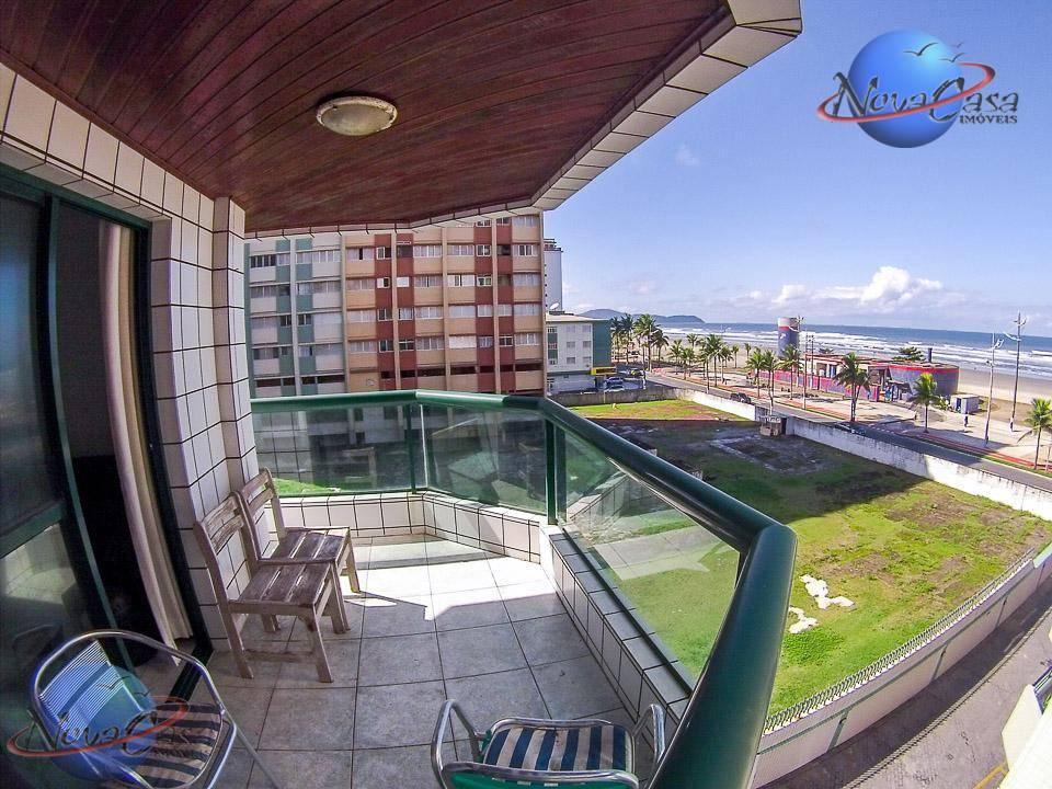 Apartamento 3 dormitórios à venda, Vila Tupi, Praia Grande.