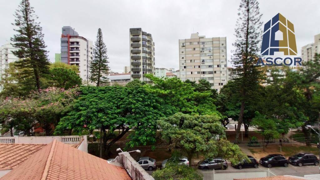 Apartamento com 2 dormitórios para alugar, 56 m² por R$ 1.600,00/mês - Centro - Florianópolis/SC