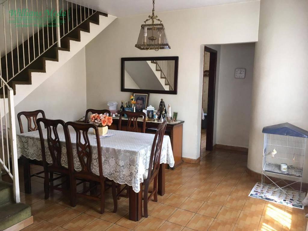 Sobrado com 3 dormitórios à venda, 170 m² por R$ 430.000 - Jardim Santa Clara - Guarulhos/SP