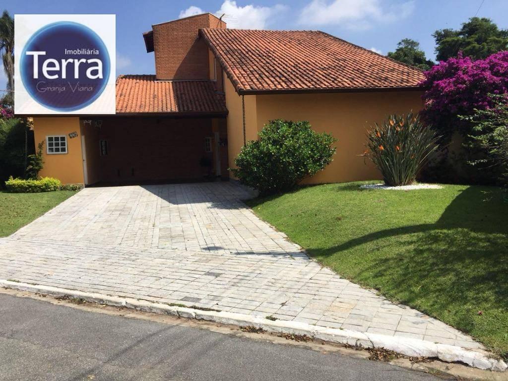 Casa com 3 dormitórios à venda, 382 m² por R$ 1.200.000 - Granja Caiapiá - Granja Viana