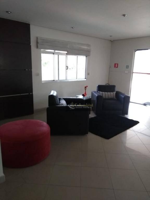Apartamento 57 m2 - 2 dormitórios - 1 vaga à venda, Vila Valparaíso, Santo André.