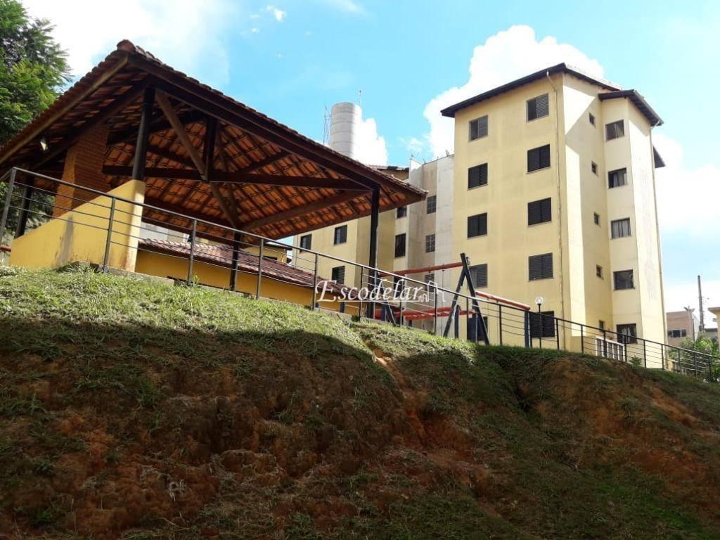 Apartamento com 2 dormitórios à venda, 55 m² por R$ 130.000 - Terra Preta - Mairiporã/SP- o imóvel não aceita financiamento.