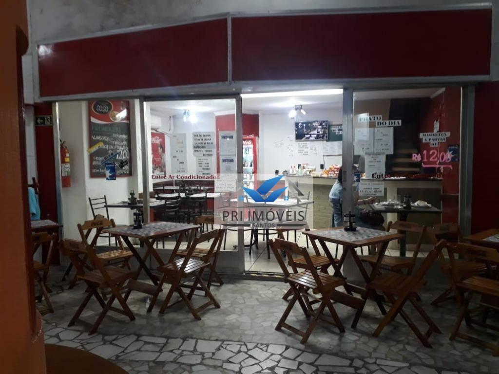 Ponto à venda, 50 m² por R$ 95.000,00 - Gonzaga - Santos/SP
