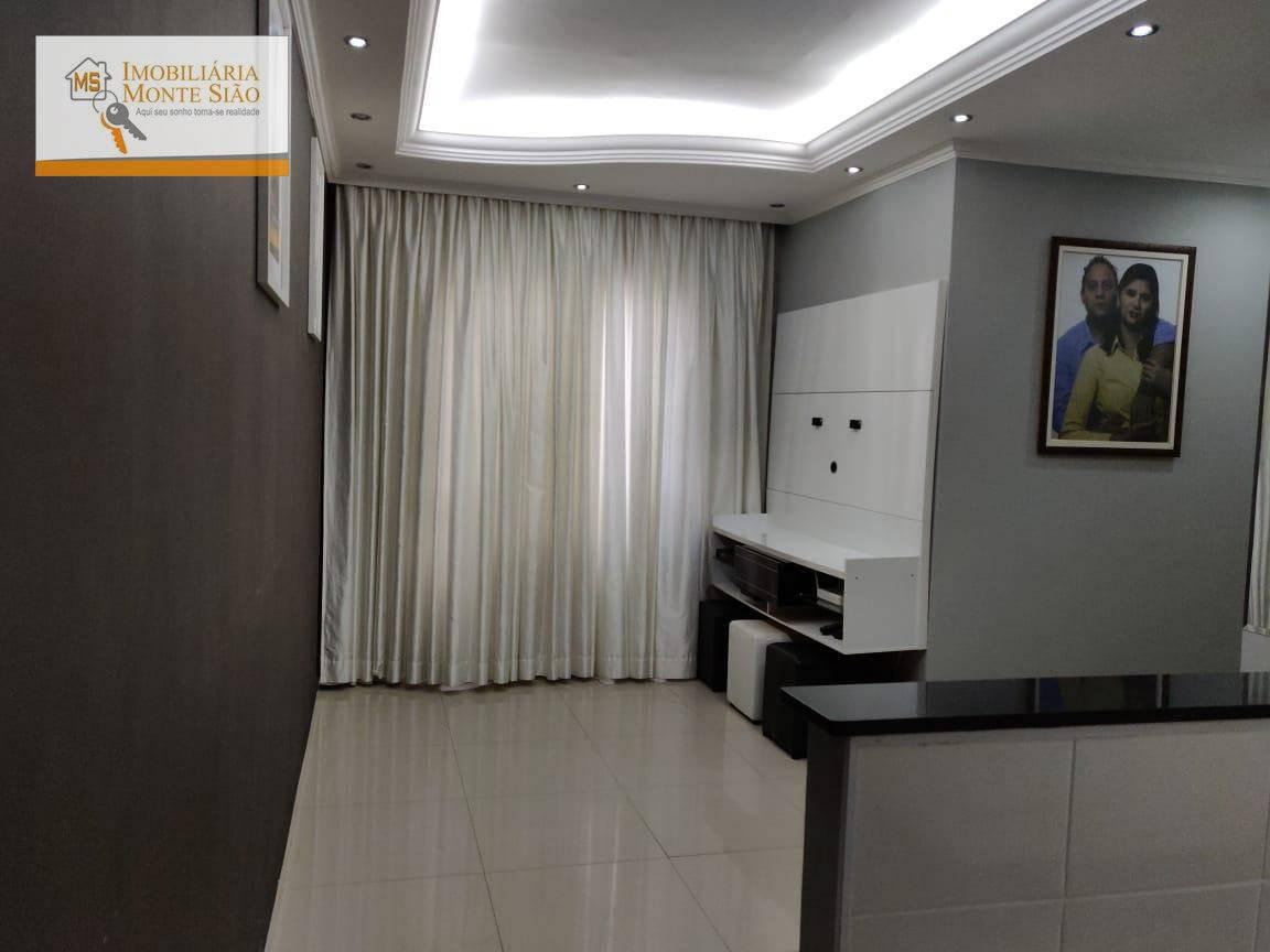Apartamento com 3 dormitórios à venda, 54 m² por R$ 244.000 - Vila Venditti - Guarulhos/SP