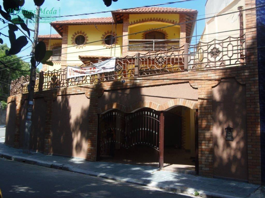 Sobrado residencial à venda, Jardim Rosa de Franca, Guarulhos.