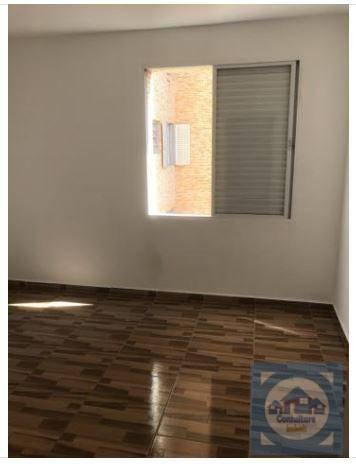Kitnet com 1 dormitório para alugar, 37 m² por R$ 1.000/mês - Gonzaguinha - São Vicente/SP