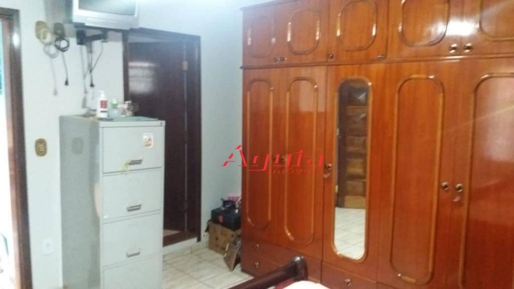 Sobrado com 3 dormitórios à venda, 223 m² por R$ 400.000 - Jardim Santo Alberto - Santo André/SP