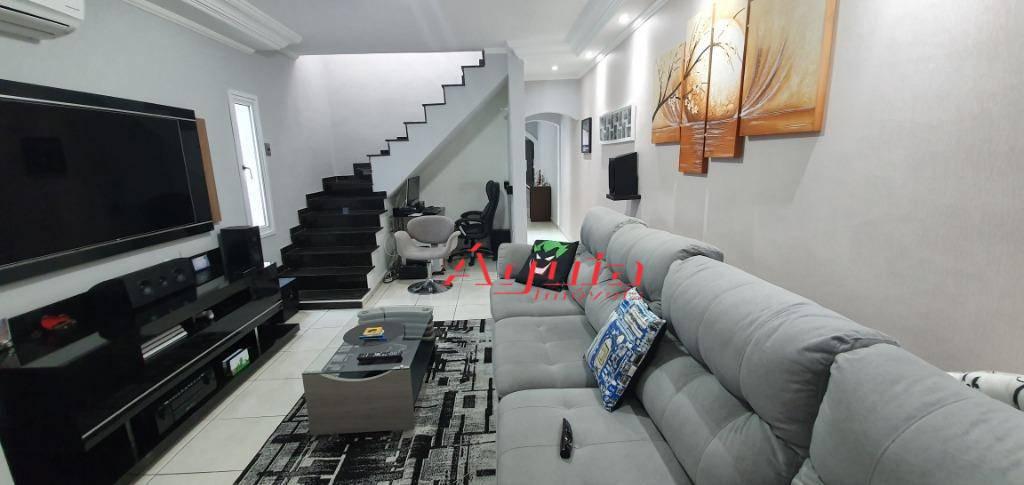 Sobrado com 3 dormitórios à venda, 195 m² por R$ 530.000 - Parque Erasmo Assunção - Santo André/SP