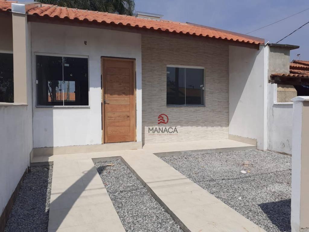 Casa com 2 dormitórios à venda, 46 m² por R$ 135.000 - Quinta dos Açorianos - Barra Velha/SC