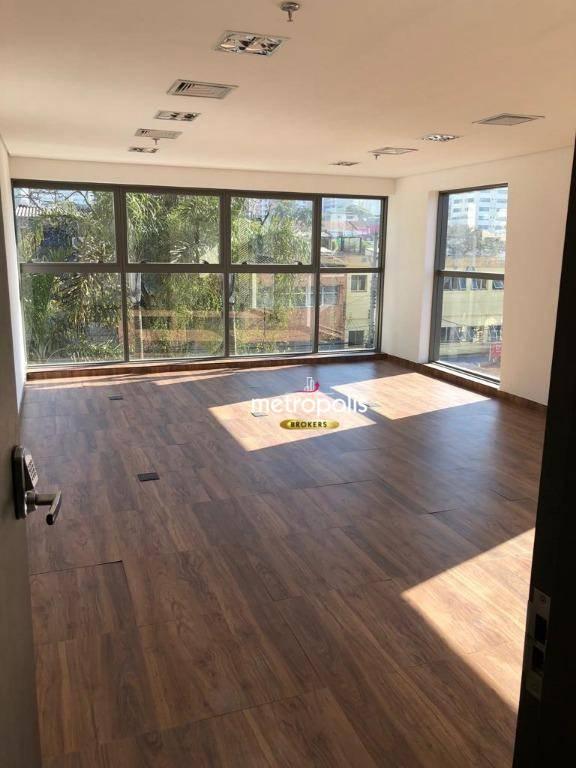 Sala à venda, 42 m² por R$ 450.000 - Vila Guiomar - Santo André/SP
