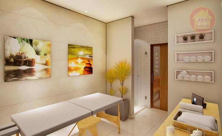 Apartamento à venda, 77 m² por R$ 409.655,06 - Centro - Mongaguá/SP