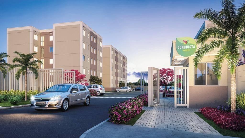 Apartamento com 2 quartos à venda, 42 m², lazer, 1 vaga, financia - Maraponga - Fortaleza/CE