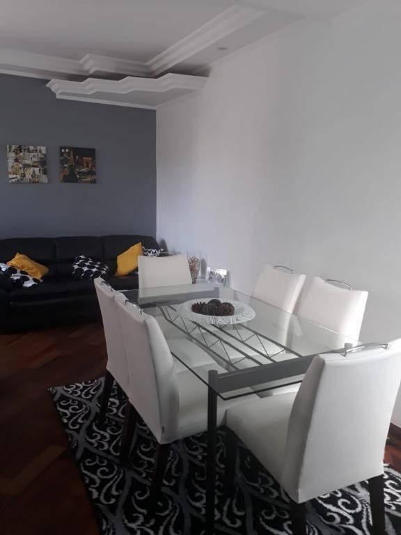 Apartamento com 3 dormitórios à venda, 76 m² por R$ 380.000 - Vila Homero Thon - Santo André/SP