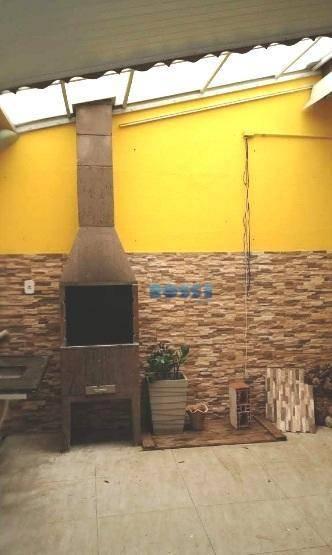 Casa com 3 dormitórios à venda, 90 m² por R$ 350.000 - Medeiros - Jundiaí/SP