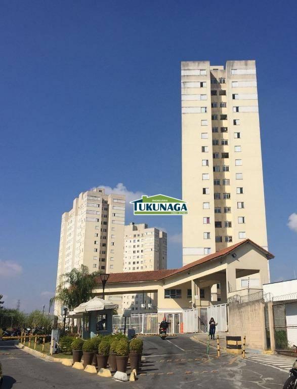Apartamento residencial à venda, Vila Venditti, Guarulhos.