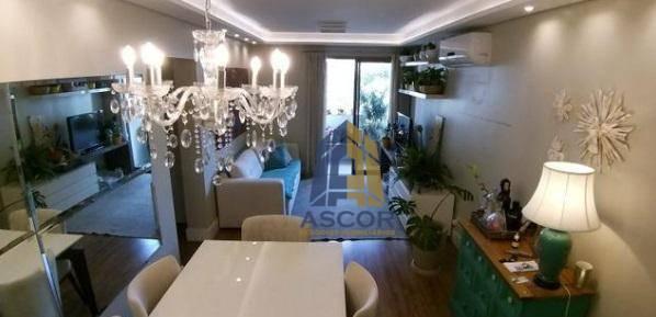 Apartamento com 2 dormitórios para alugar,  por R$ 3.500/mês - Centro - Florianópolis/SC