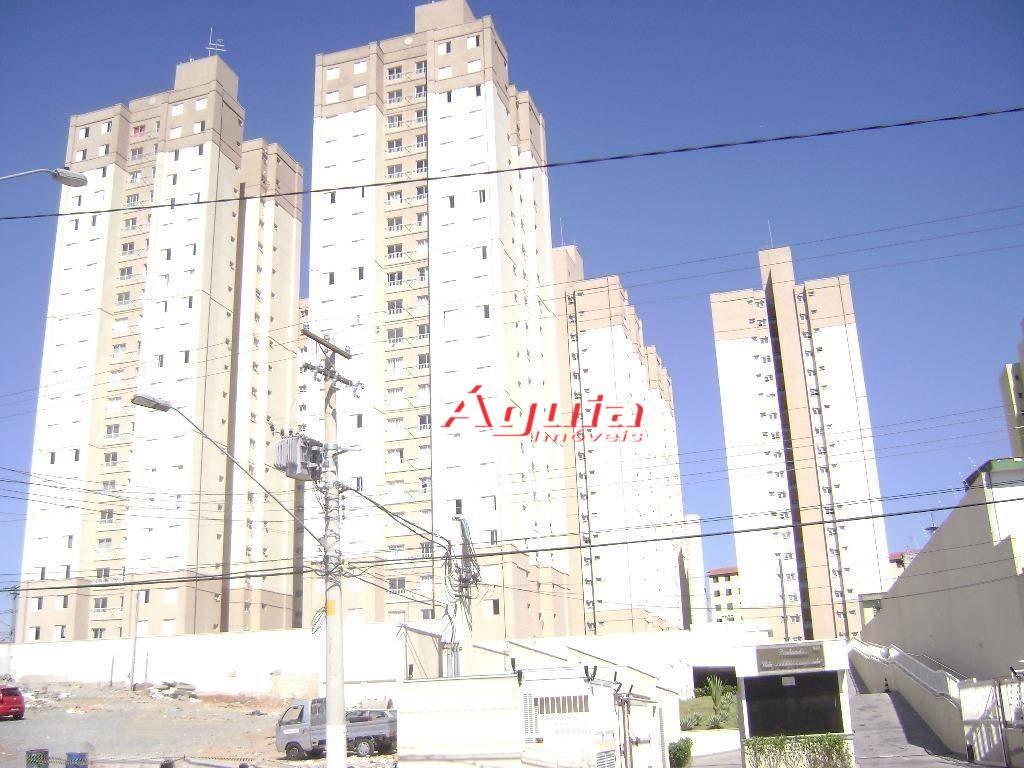 Apartamento com 2 dormitórios à venda, 50 m² por R$ 215.000 - Parque Oratório - Santo André/SP