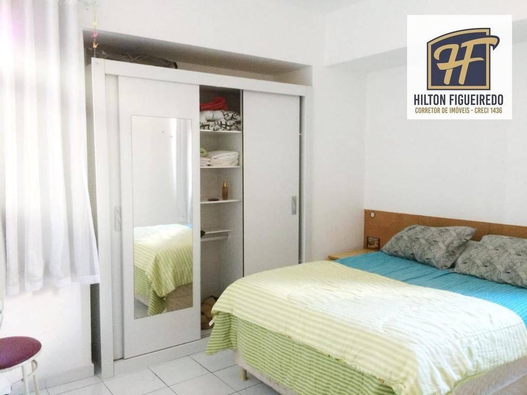 Apartamento com 3 dormitórios MOBILIADOpara alugar por R$ 1.710/mês - Manaíra - João Pessoa/PB