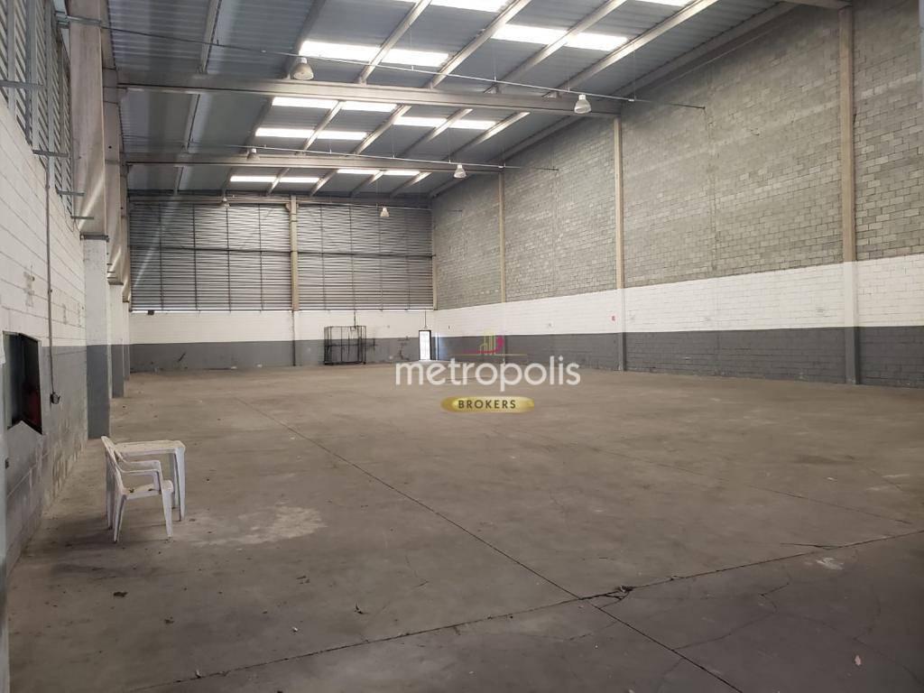 Galpão para alugar, 1140 m² por R$ 14.000,00/mês - RP2 (Regiões de Planejamento) - Mauá/SP