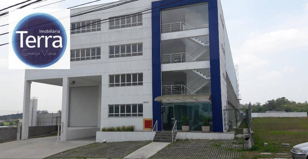 Galpão industrial para venda e locação, Parque Industrial San José, Granja Viana.