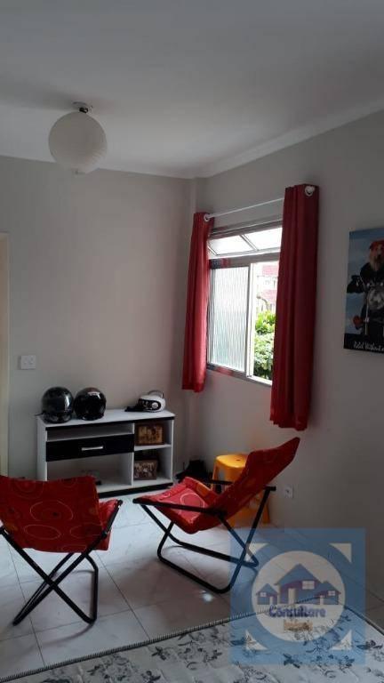 Kitnet com 1 dormitório à venda, 43 m² por R$ 140.000 - Aviação - Praia Grande/SP