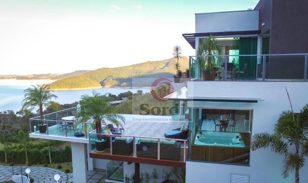 Sobrado à venda, 550 m² por R$ 3.000.000,00 -  Escarpas do Lago - Capitólio/MG