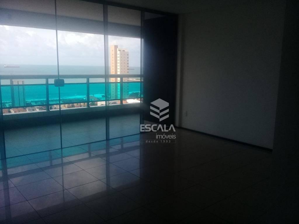 Apartamento com 2 quartos à venda, 72 m², vista mar - Praia de Iracema - Fortaleza/CE