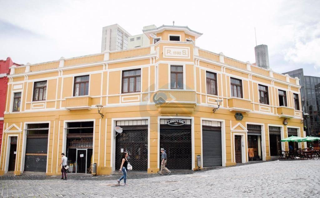 Hotel comercial à venda, São Francisco, Curitiba - HO0001.