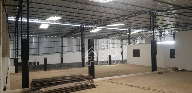Galpão para alugar, 600 m² por R$ 6.900,00/mês - Alcântara - São Gonçalo/RJ