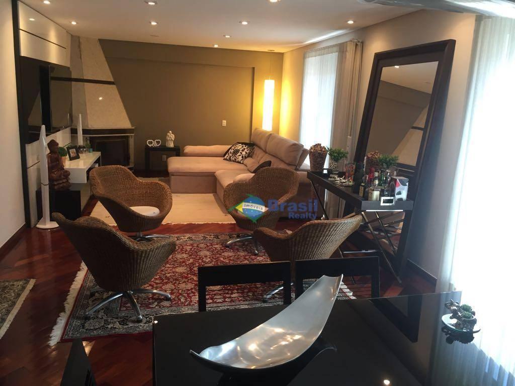 Apartamento IMPECÁVEL, 159m², 3 VAGAS, Parque das Nações, Santo André - AP0896.