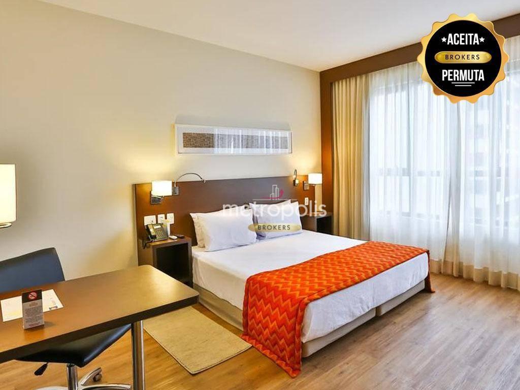 Hotel com 1 dormitório à venda, 21 m² por R$ 290.000,00 - Cerâmica - São Caetano do Sul/SP