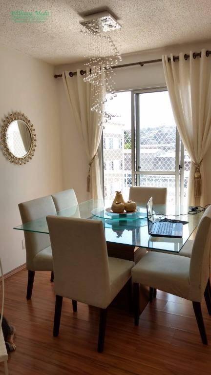 Apartamento residencial à venda, Jardim São Domingos, Guarul