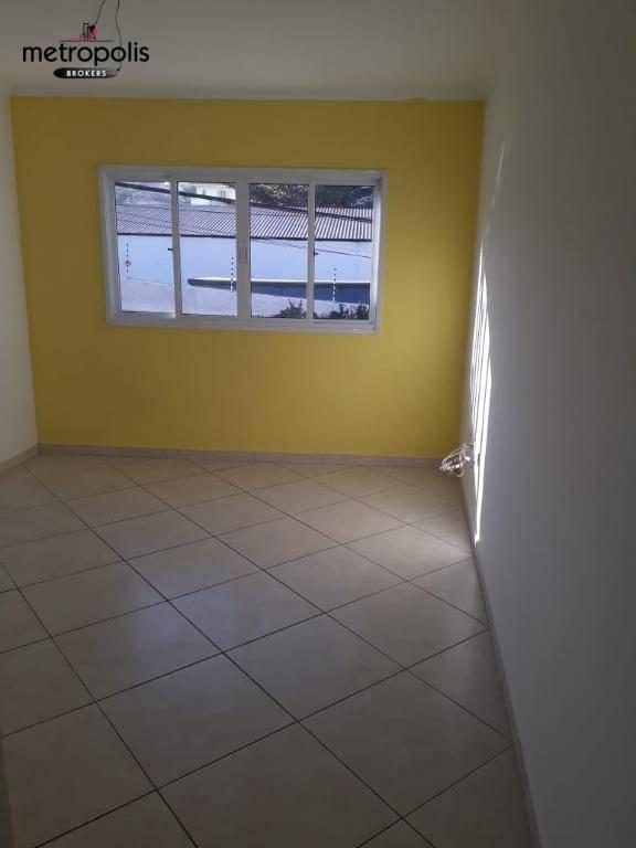 Sobrado residencial para venda e locação, Vila Camilópolis, Santo André.
