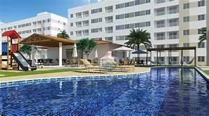 Apartamento no Cond. MoraBem, com 2 dormitórios para alugar, 52 m² - Parnamirim/RN