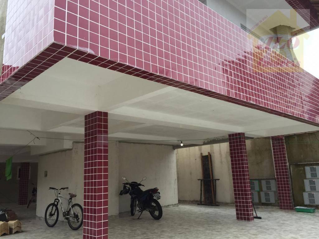 Sobrado com 2 dormitórios à venda, 64 m² por R$ 230.000 - Vila Guilhermina - Praia Grande/SP
