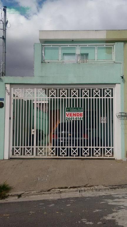 Sobrado  residencial para locação, Jardim Adriana, Guarulhos