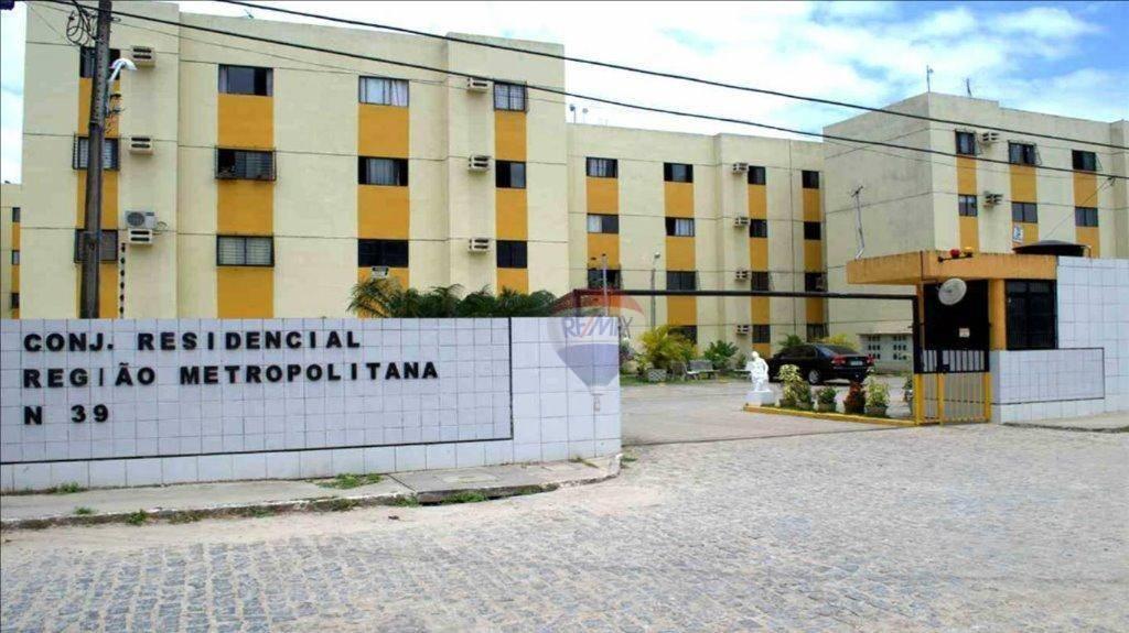 Apartamento com 2 dormitórios à venda, 42 m² por R$ 130.000 - Nazaré - Camaragibe/PE