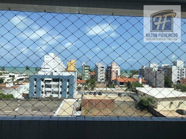 Apartamento com 3 dormitórios para alugar, 110 m² por R$ 2.000/mês - Jardim Oceania - João Pessoa/PB