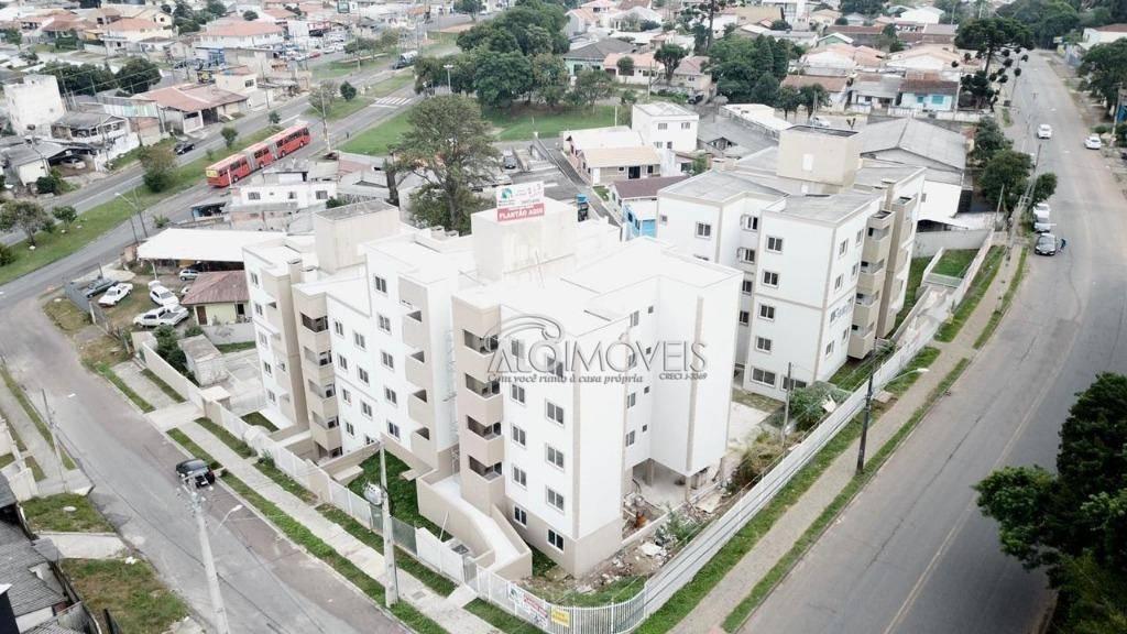 Apartamento com 3 dormitórios à venda, 59 m² por R$ 300.000 - Pinheirinho - Curitiba/PR