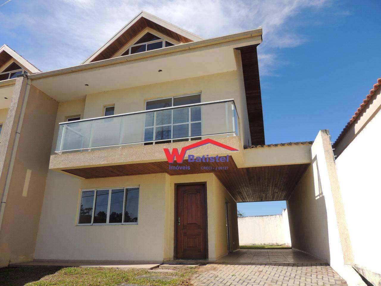Sobrado com 3 dormitórios à venda, 173 m² por R$ 480.000 - Av. Joana Joana D Arc, 206 - Tanguá - Almirante Tamandaré/PR