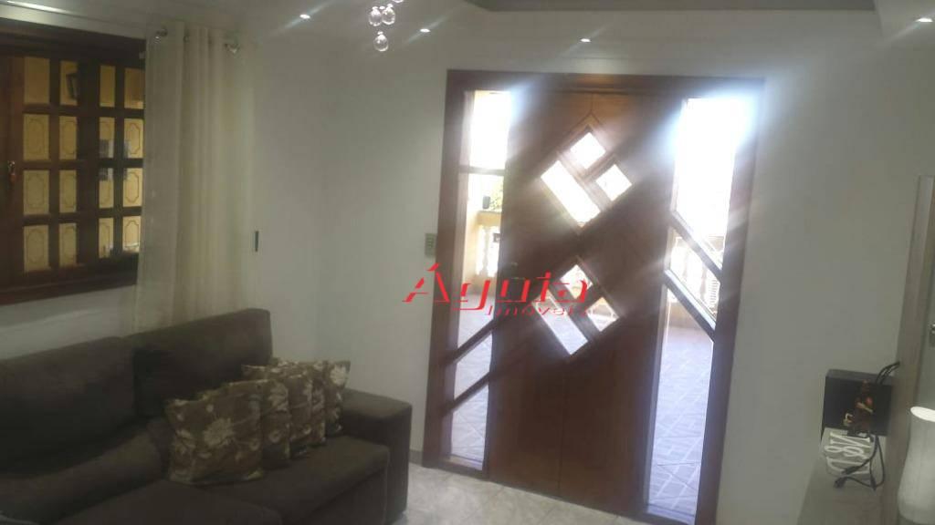 Casa com 3 dormitórios à venda, 175 m² por R$ 340.000 - Vila Lutécia - Santo André/SP