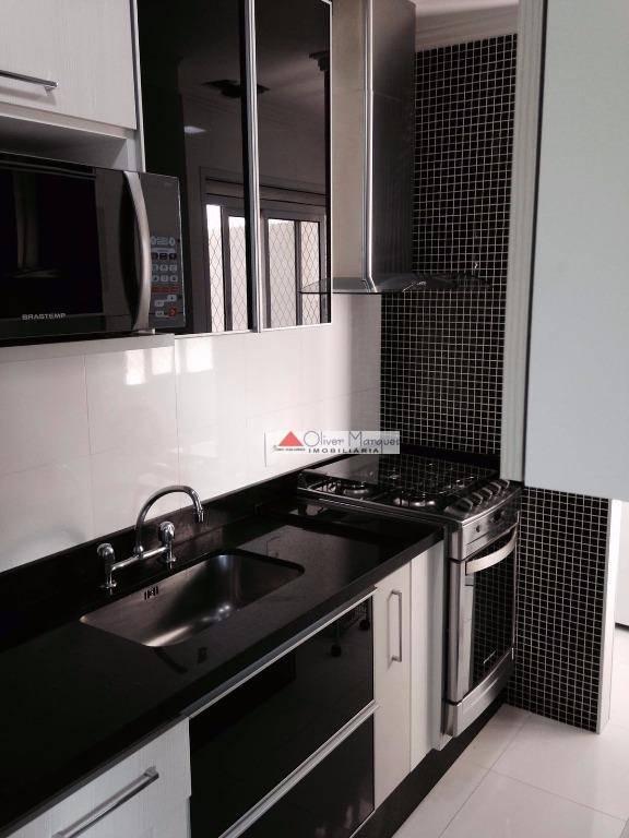 Cobertura com 2 dormitórios à venda, 110 m² por R$ 650.000  Rua João Crudo, 345 - Centro - Osasco/SP