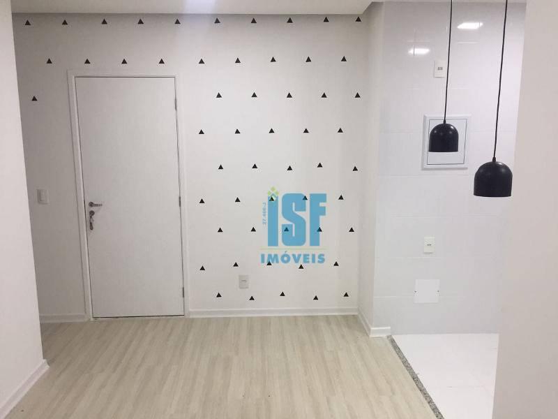 Apartamento com 2 dormitórios à venda, 56 m² por R$ 240.000 - Parque Viana - Barueri/SP - AP20689.