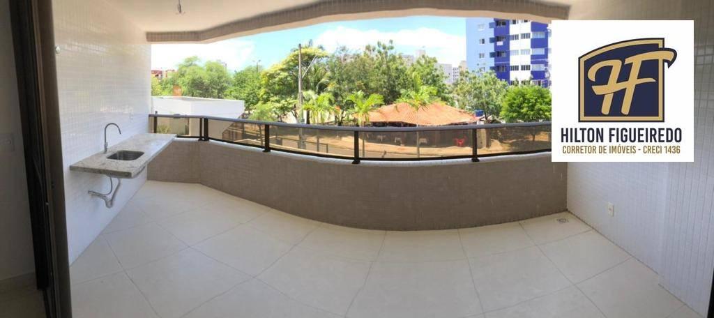 Apartamento com 4 dormitórios à venda, 157 m² por R$ 785.000,00 - Bessa - João Pessoa/PB