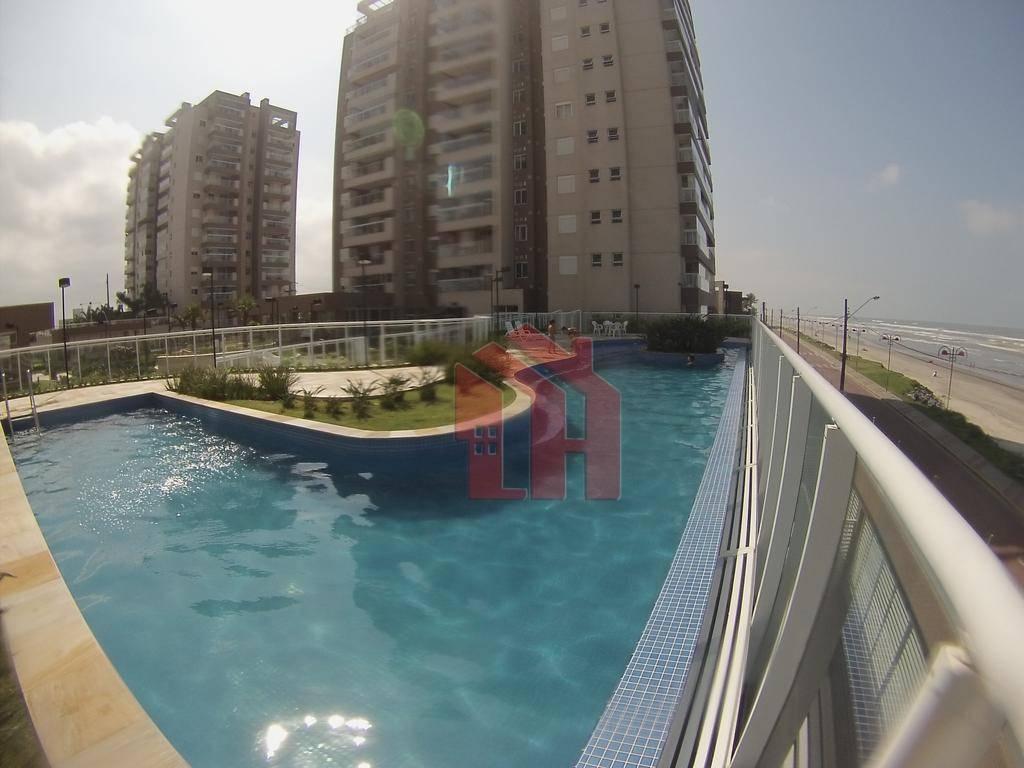 Apartamento com 2 dormitórios RESORT à venda, 77 m² por R$ 540.000 - Centro Thiollier - Itanhaém/SP