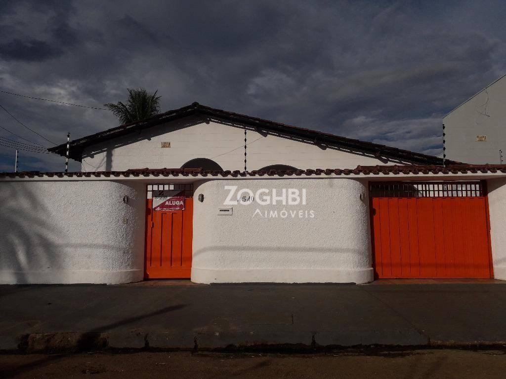 Casa com 4 dormitórios para alugar, 350 m² por R$ 2.200/mês - Rio Madeira - Porto Velho/RO