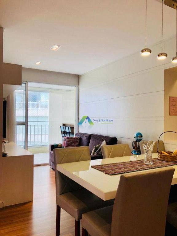 Apartamento com 3 Quartos e 2 banheiros à Venda, 80 m² por R$ 629.000